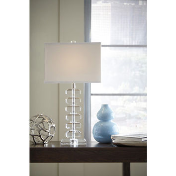 L428074 Janis Crystal Table Lamp (1/CN) - Crystal - Free Shipping!