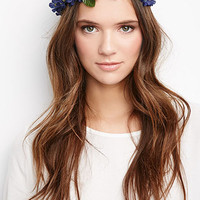 Mini-Floral Head Crown