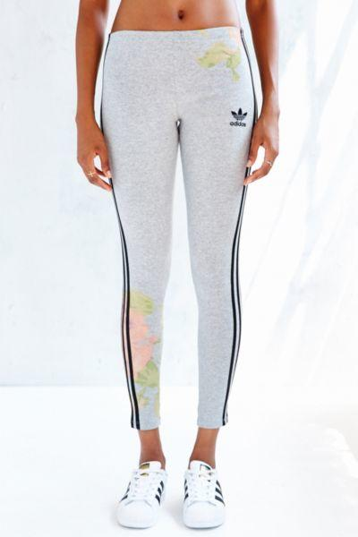 0b19e5f3c17ea adidas Originals Pastel Rose Legging from Urban Outfitters