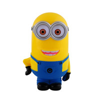 New Minion Lovely 3D Minions Cartoon Figures Piggy Bank Money Box hucha Saving Coin Cent Penny Children Toy alcancia Baby toy B0