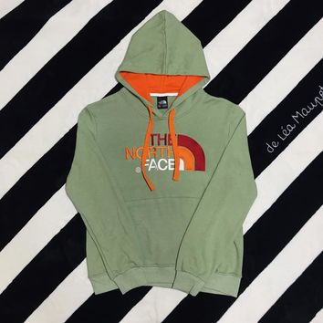 North Face Winter Light Green Hoodie