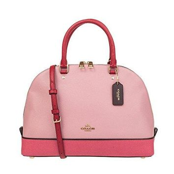 Coach Geometric Colorblock Sierra Satchel IM/LLK