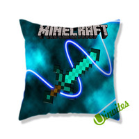 Sword Mine Square Pillow Cover