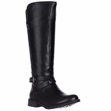 G by Guess Halsey Knee-High Riding Boots - Black
