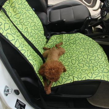 Anti-Silp Pet Carriers Oxford Fabric Car Waterproof Pet Seat Covers Dog Cat Car Booster Outdoor Travel Car Seat Pet Protector