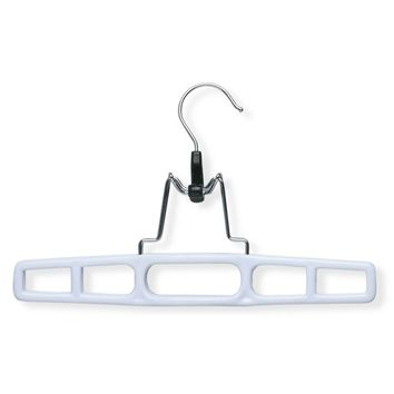 Honey-Can-Do 12-pk. Soft-Touch Clamp Pants Hangers (White)