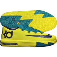 Nike Kids' Grade School KD VI Basketball Shoe - Yellow/Tropical | DICK'S Sporting Goods