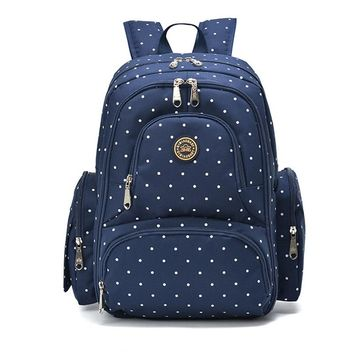 Multi Compartment Diaper Backpack