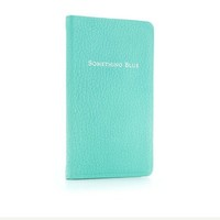 Tiffany & Co. -  Something Blue Book journal in Tiffany Blue® grain leather.
