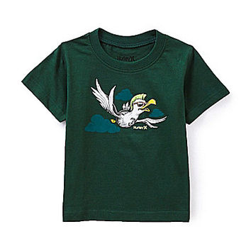 Hurley 12-24 Months Seagull Short-Sleeve Tee - Teal