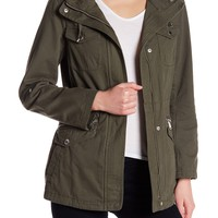 BCBGeneration | Hooded Roll Sleeve Anorak | Nordstrom Rack
