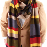 costume accessory: scarf 4th doctor who deluxe