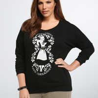 Disney Alice Curious Sweatshirt