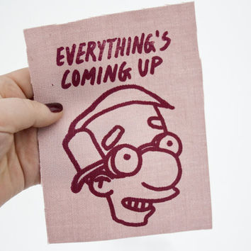 Everything's Coming Up Milhouse Patch