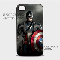 Captain America first avenger Plastic Cases for iPhone 4,4S, iPhone 5,5S, iPhone 5C, iPhone 6, iPhone 6 Plus, iPod 4, iPod 5, Samsung Galaxy Note 3, Galaxy S3, Galaxy S4, Galaxy S5, Galaxy S6, HTC One (M7), HTC One X, BlackBerry Z10 phone case design