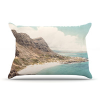 "Nastasia Cook ""Aloha"" Mountain Beach Pillow Case"