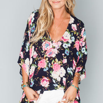 Show Me Your Mumu  Peta Tunic ~ Breezy Bloom