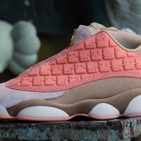 "[Free Shipping ]CLOT x Air Jordan XIII 13 Low ""Terracotta Warrior"" AT3102-200  Running Shoes"