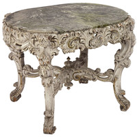 A Victorian Marble Topped Table