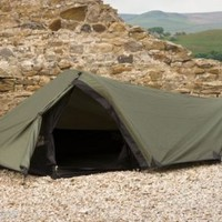 SnugPak Ionosophere 1 Person Camping Survival Shelter Tent 92850 - Olive Green