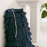 Waterfall Ruffle Laundry Bag - Urban Outfitters