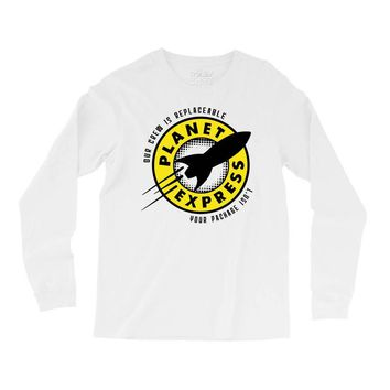 planet express Long Sleeve Shirts