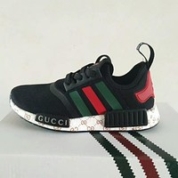 Adidas x GUCCI NMD Boost Women Men Running Sport Casual Shoes Sneakers