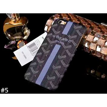GOYARD Tide brand half-pack hard shell iphone8plus mobile phone case cover #5