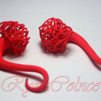 Plugs tentacles  00g  ( 9,2 mm )