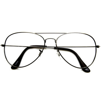 Retro Metal Photochromatic XDF Lenses Aviator Glasses 8864