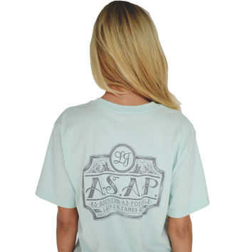 As Southern As Possible Tee in Mint Green by Lauren James