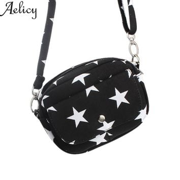 Aelicy Women Bags Mini Small Messenger Cross Body Handbag Shoulder Bag Purse Coin Bag Canvas 2018 New Design Ladies Women's bag