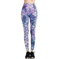Scales Mermaid - Women's Leggings