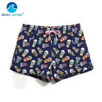 Gailang Brand Sexy Women's Board Shorts Beach Boxer Trunks Short Pants Summer 2017 New Women Swimwear Swimsuits Quickly Drying