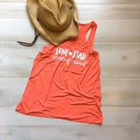 Coral Lone Star Tank