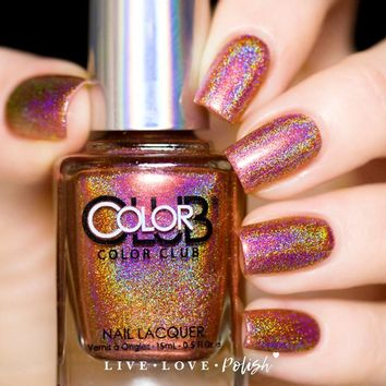 Color Club Sidewalk Psychic Nail Polish (2015 Halo Hues Collection)