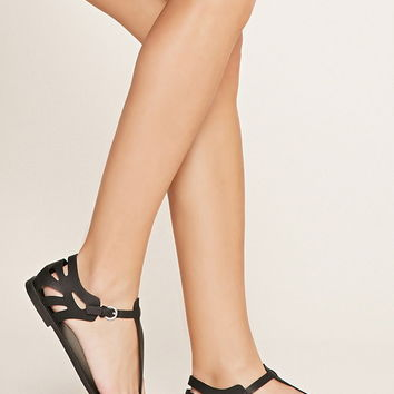 Faux Leather Sandals | Forever 21 - 2000171203
