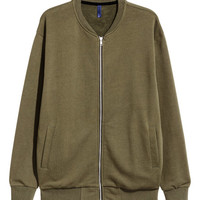 Sweatshirt Jacket - from H&M