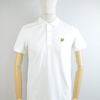 Lyle & Scott Polo Shirt in Off White