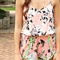 Neon Dreams Romper