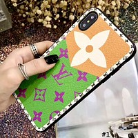 LV 2019 new tide brand iphone xs max mobile phone case cover