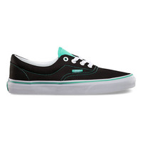 Vans 2 Tone Era Womens Shoes Black/Cockatoo  In Sizes