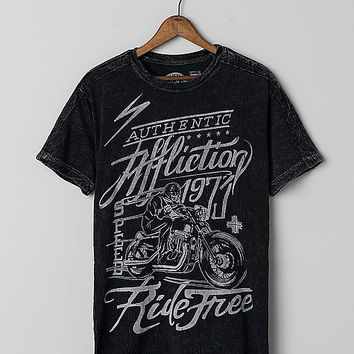 Affliction American Customs Ride Free T-Shirt