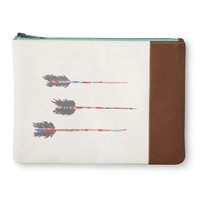 TOMS for Target- Arrow Zippered Clutch