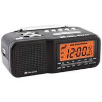 Midland 7-channel Desktop Alarm Clock And Weather Alert Radio With Am And Fm Radio