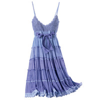 Sugilite Crochet Dress                             - New Age, Spiritual Gifts, Yoga, Wicca, Gothic, Reiki, Celtic, Crystal, Tarot at Pyramid Collection