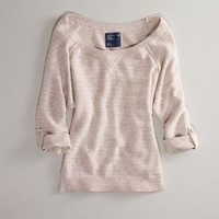 AE Off-Shoulder Dolman Sweater - American Eagle Outfitters