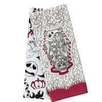 Disney Jack & Sally The Nightmare Before Christmas Dish Towels Set of 2 New