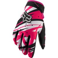 Fox Racing Dirtpaw Gloves Undertow Pink Womens | Fox Racing Womens & Girls Offroad Gloves at Bob's Cycle Supply | Bob's Cycle Supply