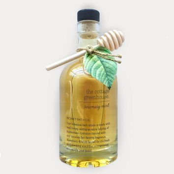 Rosemary Mint Honeyed Bath Oil